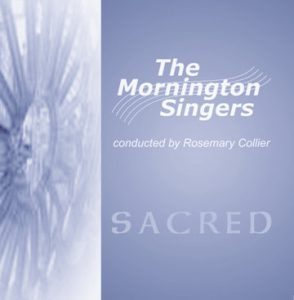 Sacred CD cover